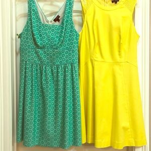 Two women's spring dresses by The Limited size 6